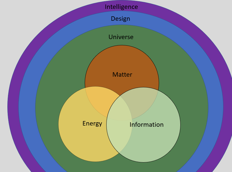 Life Consists Of Matter Energy And Information